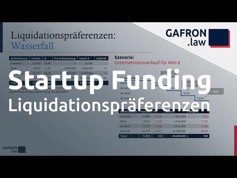 Startup Funding: LIQUIDATIONSPRÄFERENZEN und Wasserfall