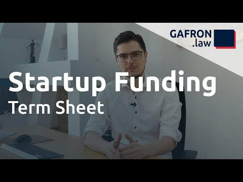 Startup Funding: TERM SHEET und wichtige VC-Klauseln im Überblick