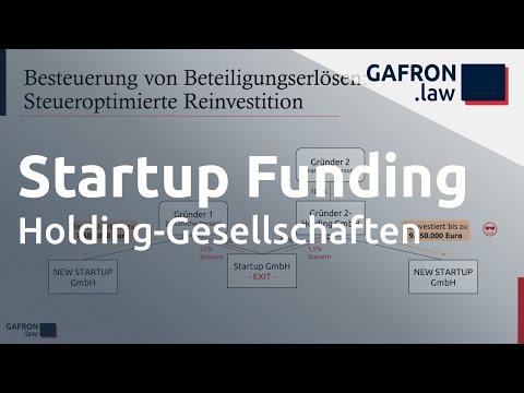 Startup Funding - HOLDING-GESELLSCHAFTEN