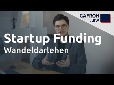 Startup Funding: WANDELDARLEHEN richtig einsetzen