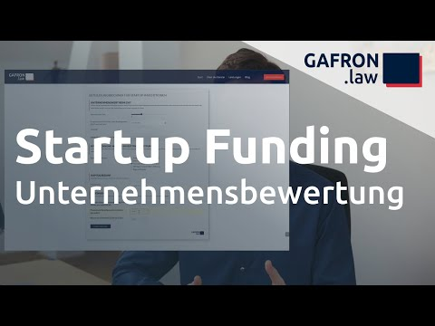 Startup Funding: UNTERNEHMENSBEWERTUNG verstehen