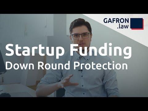Startup Funding: VERWÄSSERUNGSSCHUTZ (Down Round Protection)