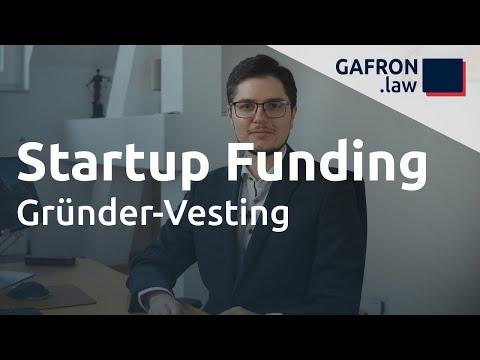 Startup Funding: VESTING für Gründer